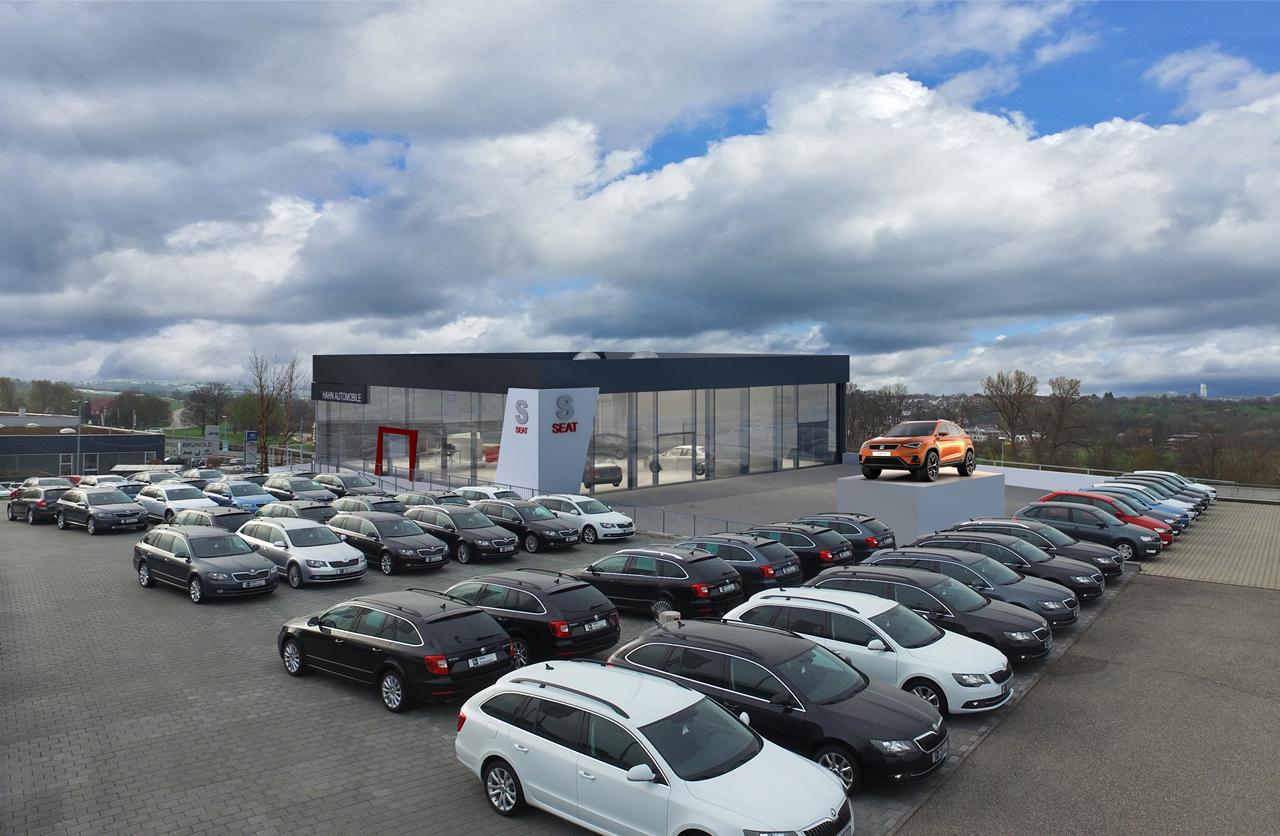 Bild 2: Neubau SEAT-Autohaus