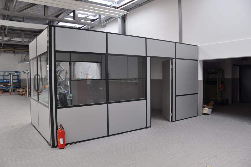 Bild 3: Umbau Porsche-Werkstatt