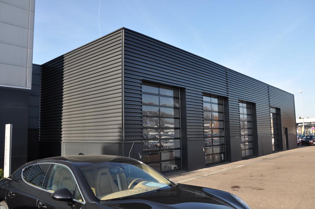 Bild 7: Umbau Porsche-Werkstatt