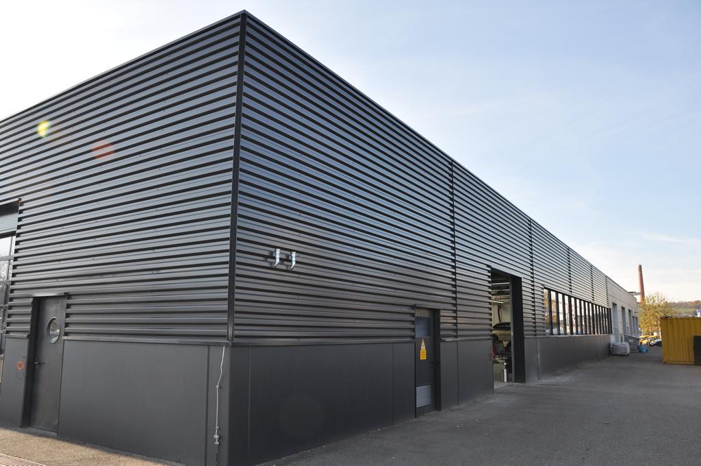 Bild 8: Umbau Porsche-Werkstatt