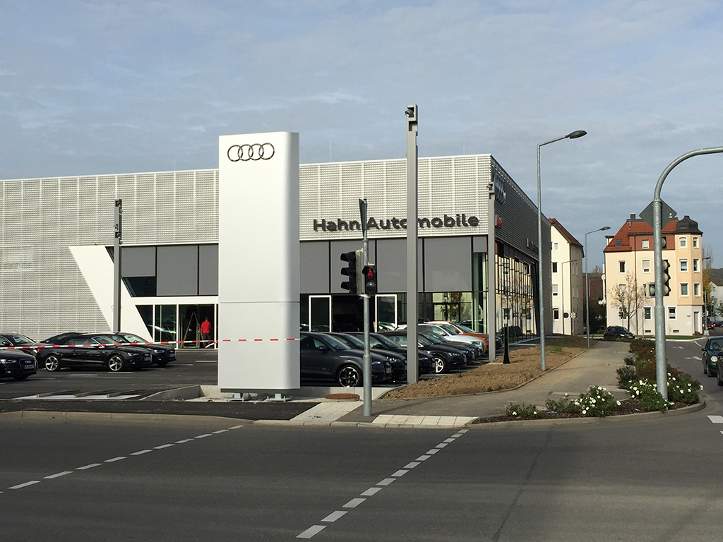 Bild 1: Neubau Hahn Gruppe Göppingen Audi Terminal