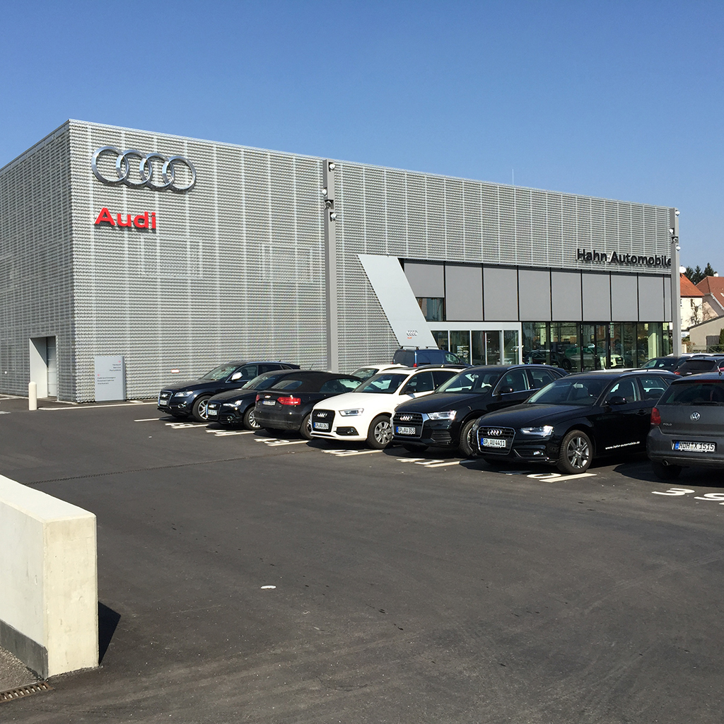 Bild 2: Neubau Hahn Gruppe Göppingen Audi Terminal