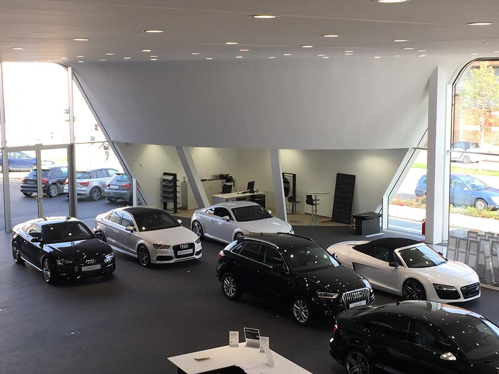 Bild 6: Neubau Hahn Gruppe Göppingen Audi Terminal