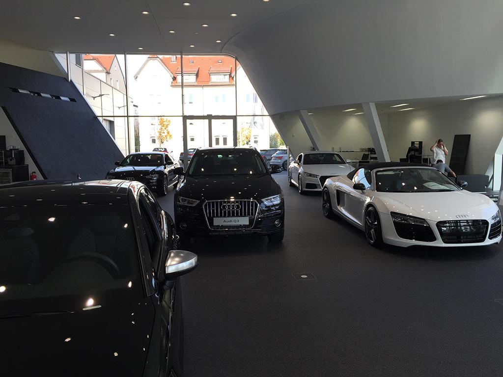 Bild 7: Neubau Hahn Gruppe Göppingen Audi Terminal