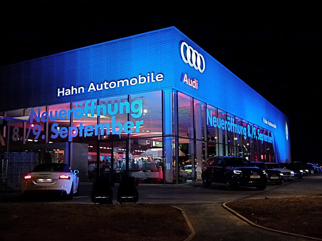 Bild 3: Neubau Hahn Gruppe Ludwigsburg Audi Terminal