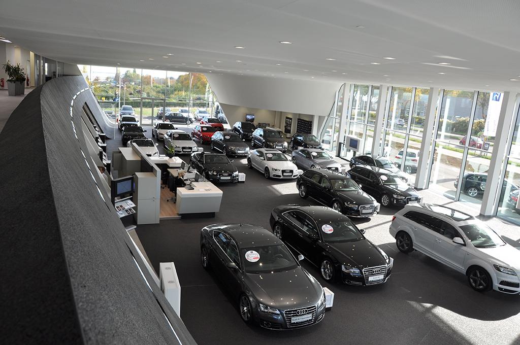 Bild 5: Neubau Hahn Gruppe Ludwigsburg Audi Terminal