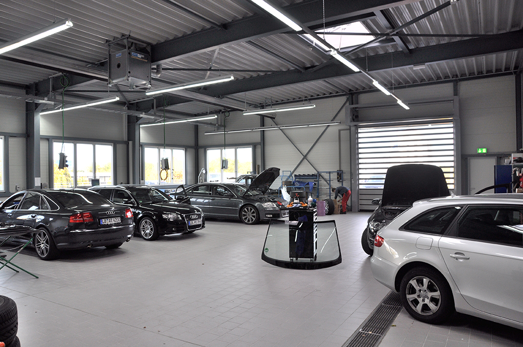 Bild 7: Neubau Hahn Gruppe Ludwigsburg Audi Terminal